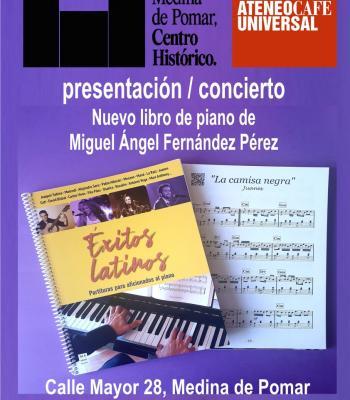 Concierto de piano de Miguel Ángel Fernández Pérez.