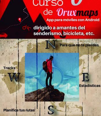 Curso de OruxMaps en el Cibercentro del Valle de Tobalina.