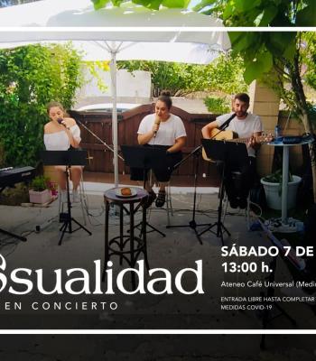 DE CASUALIDAD en concierto.