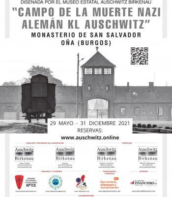 Exposición Auschwitz campo de la muerte nazi alemán. .