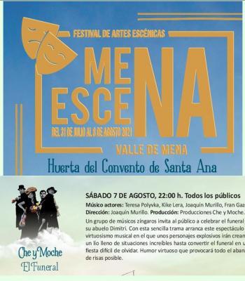 II Festival MenaEscena Che y Moche. El funeral.