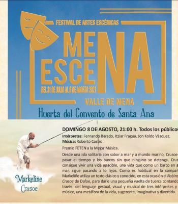 II festival MenaEscena. Markeliñe. Crusoe.