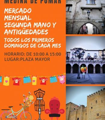 Mercado Mensual Segunda Mano y Antigüedades.