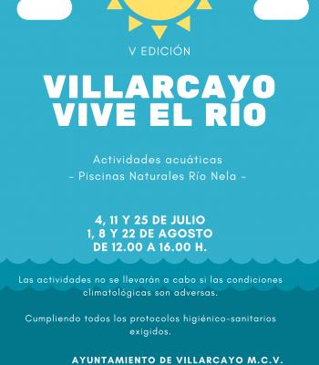 V EDICIÓN VILLARCAYO VIVE EL RÍO.