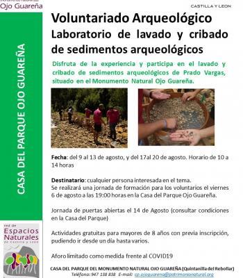 Voluntariado Arqueológico Prado Vargas.