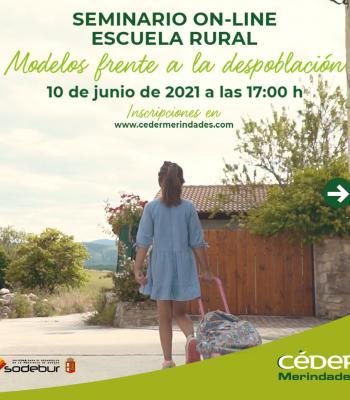 Seminario online | Escuela rural: Modelos frente a la....