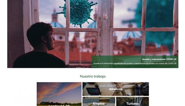 El CEDER Merindades presenta su nueva página web....