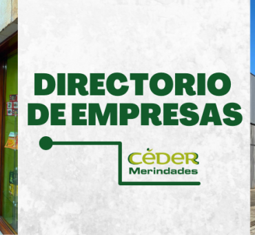 Mapa de empresas de las Merindades.