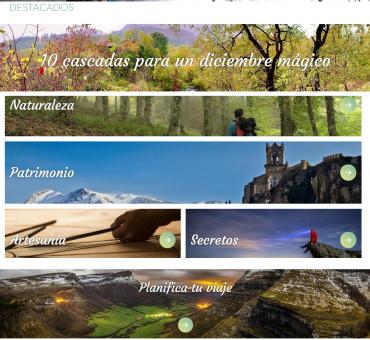 Nuevo portal turístico.